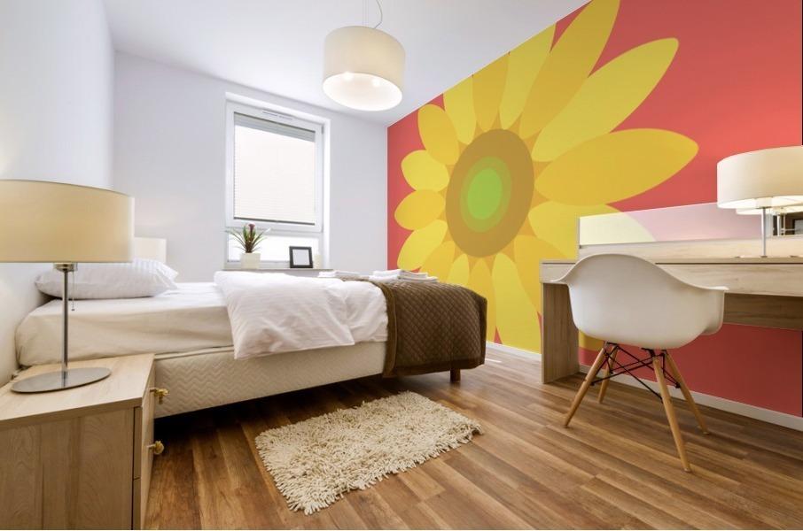 Sunflower (9)_1559876665.3835 Mural print
