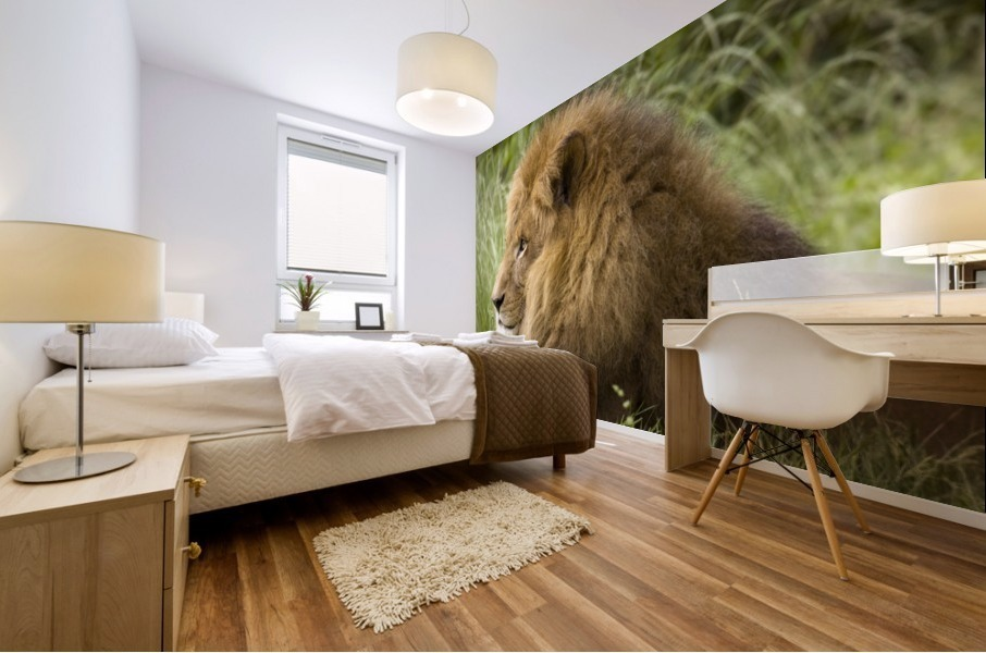 King of the Beasts Mural print