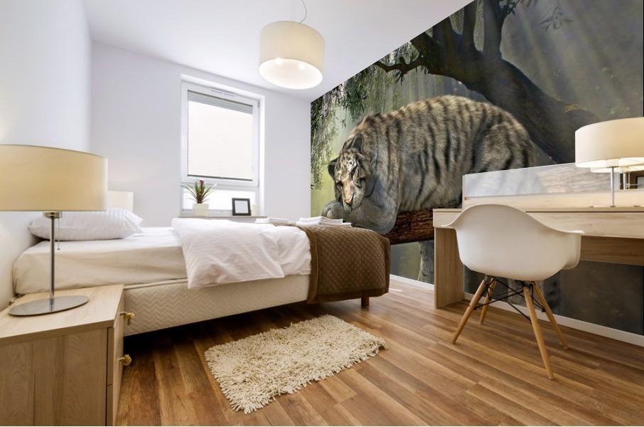 tiger animal jungle rainforest Mural print
