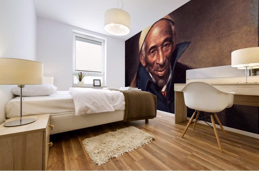 Affricans in America Mural print