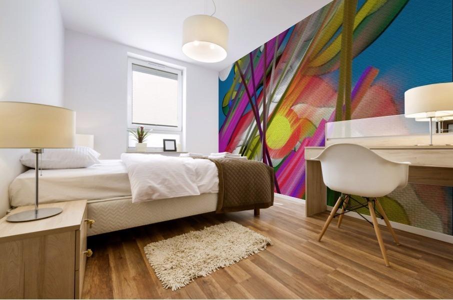 Happy Colors Mural print