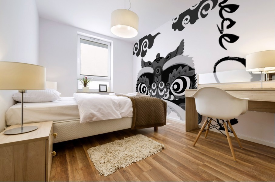 Chinese Concept 13A Mural print