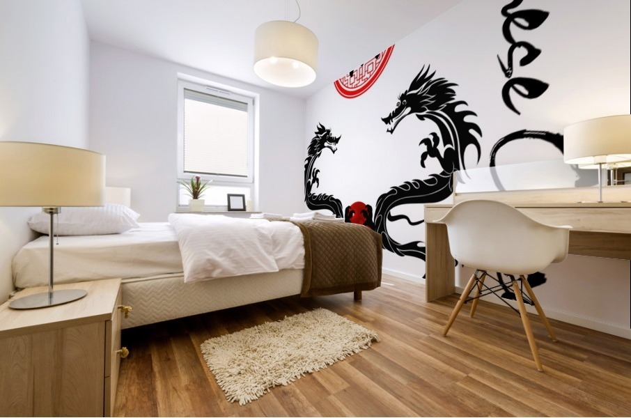 Chinese Concept 29A Mural print