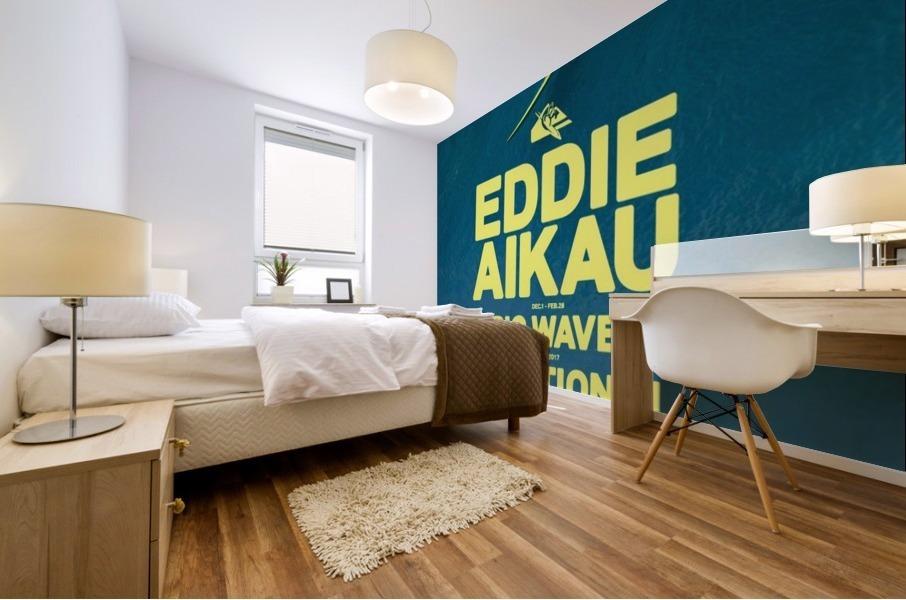 2017 QUIKSILVER - EDDIE AIKAU Big Wave Invitational Surfing Competition Print Mural print