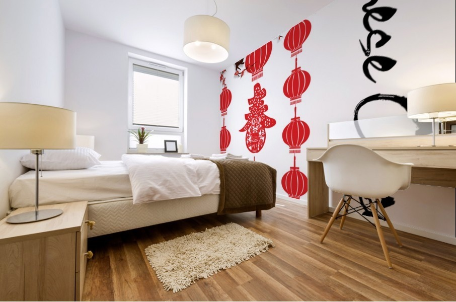 Chinese Concept 31A Mural print