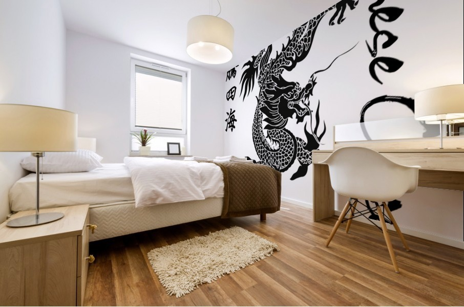 Chinese Concept 44A Mural print