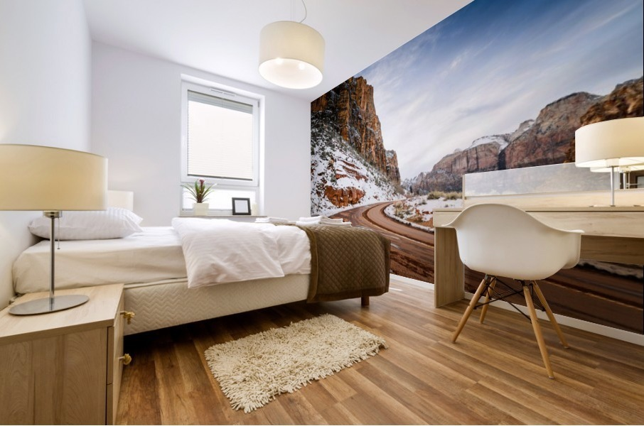Zion National Park  Mural print
