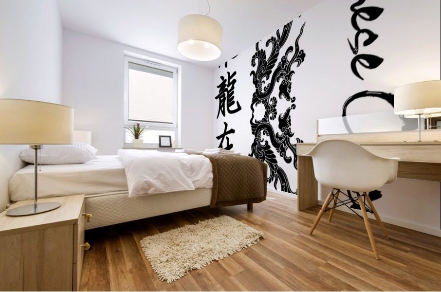Chinese Concept 54A Mural print
