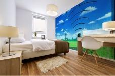 Wireless Mural print