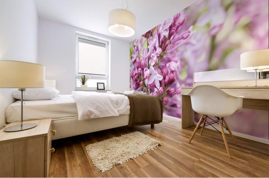 Lilacs Mural print