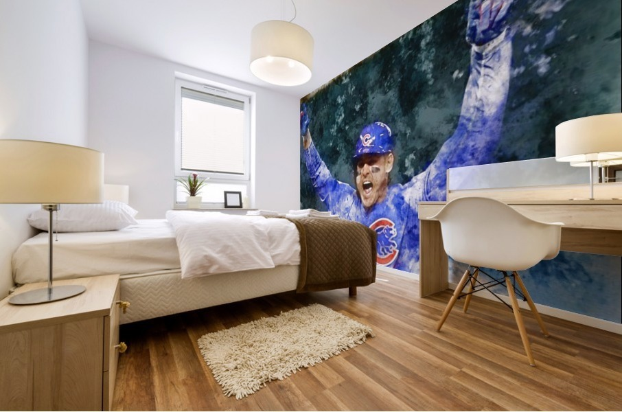 ANTHONY RIZZO Water Color Print - Chicago Cubs Print Mural print