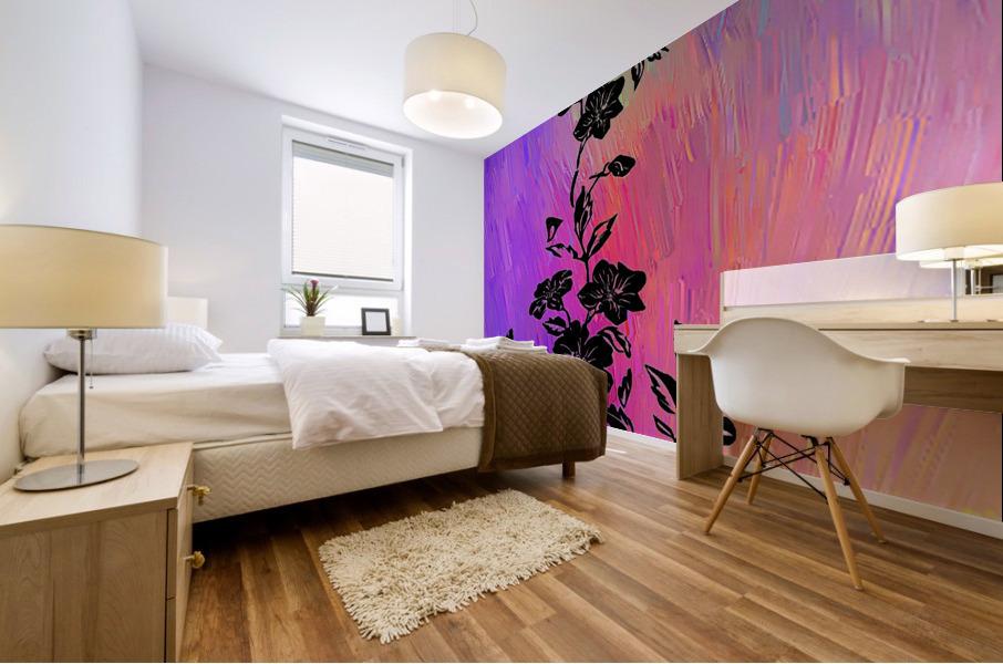 Modern interior design 14 Mural print