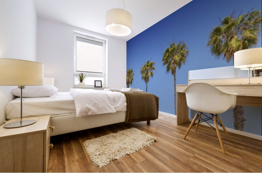 Lovely Palm Trees | Panorama Mural print