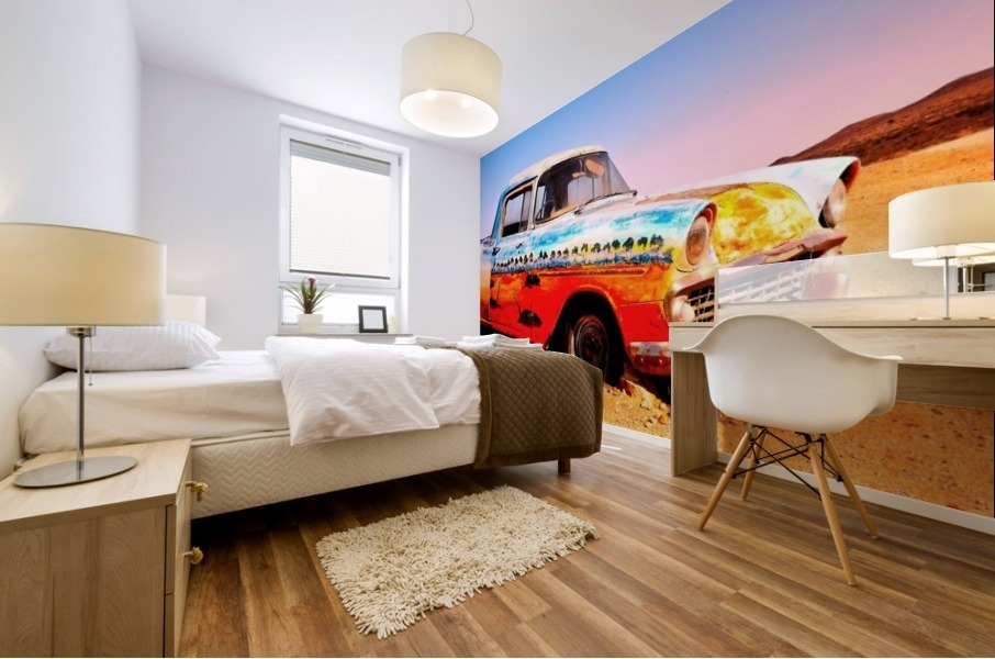 Quirky Sights of the Outback 4 Mural print
