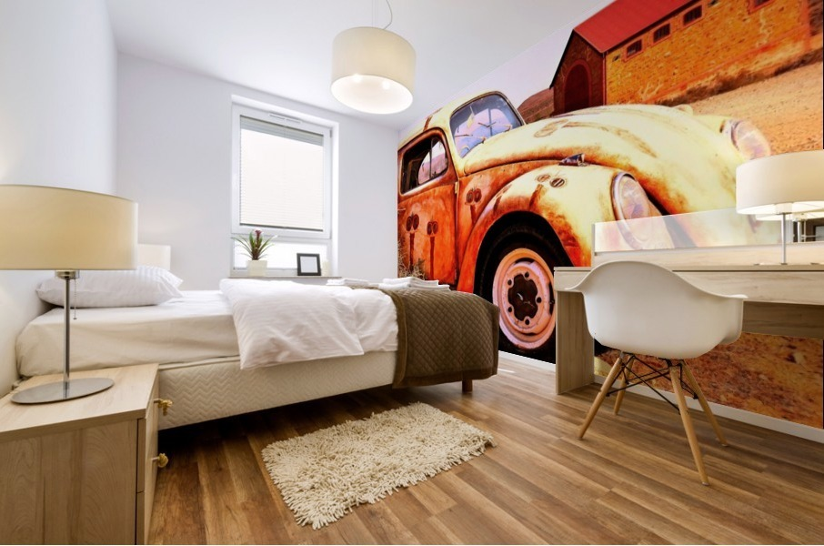 Quirky Sights of the Outback 5 Mural print