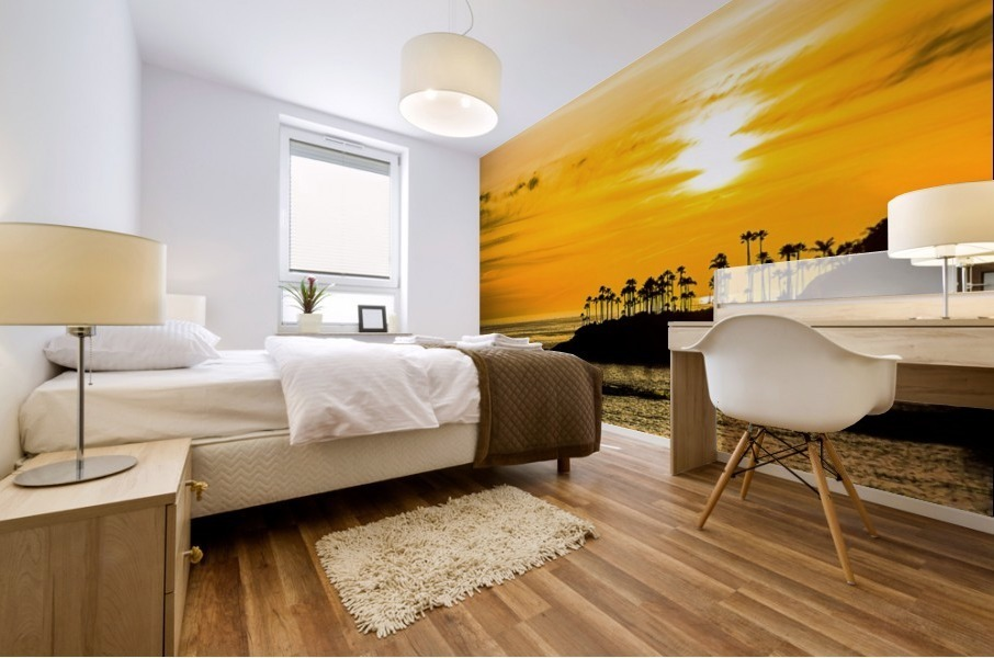 California Dreamin Mural print
