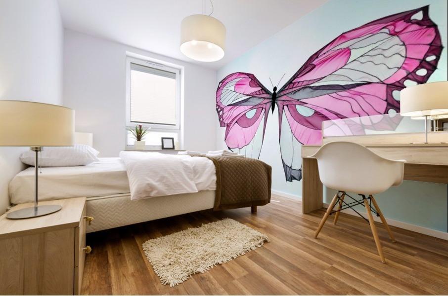 Papillon Mural print
