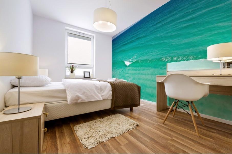 Clear Surf  Mural print