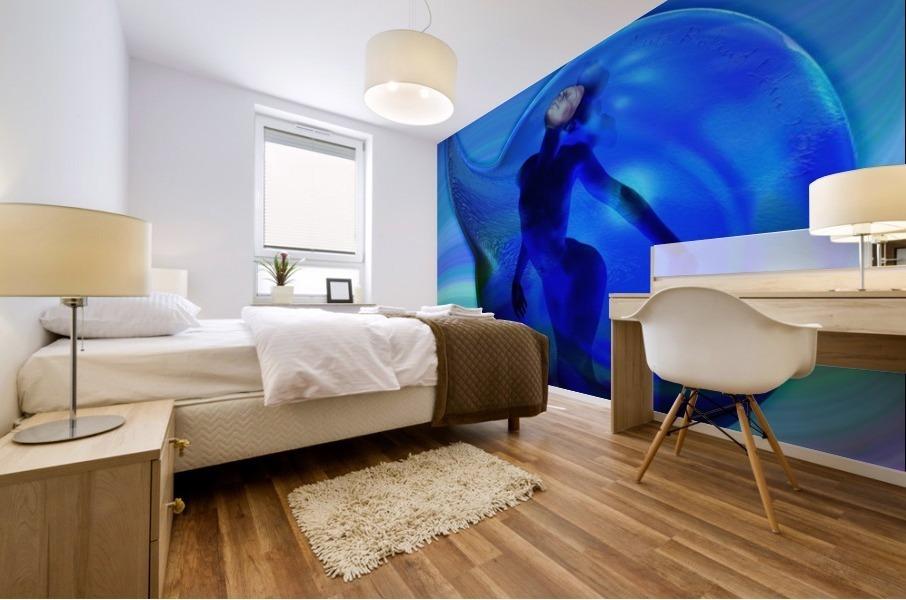 The Birth of Marmaid  Mural print