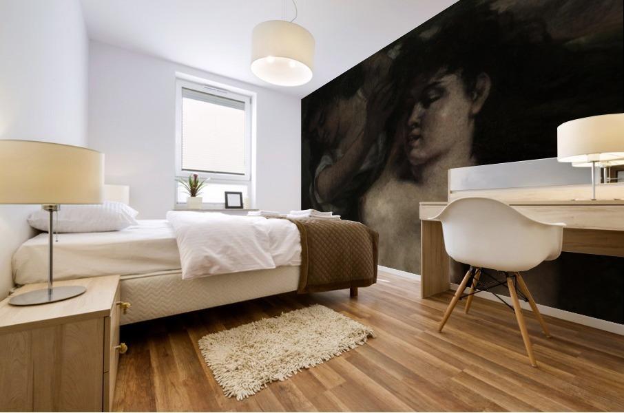 Trois baigneuses Impression murale