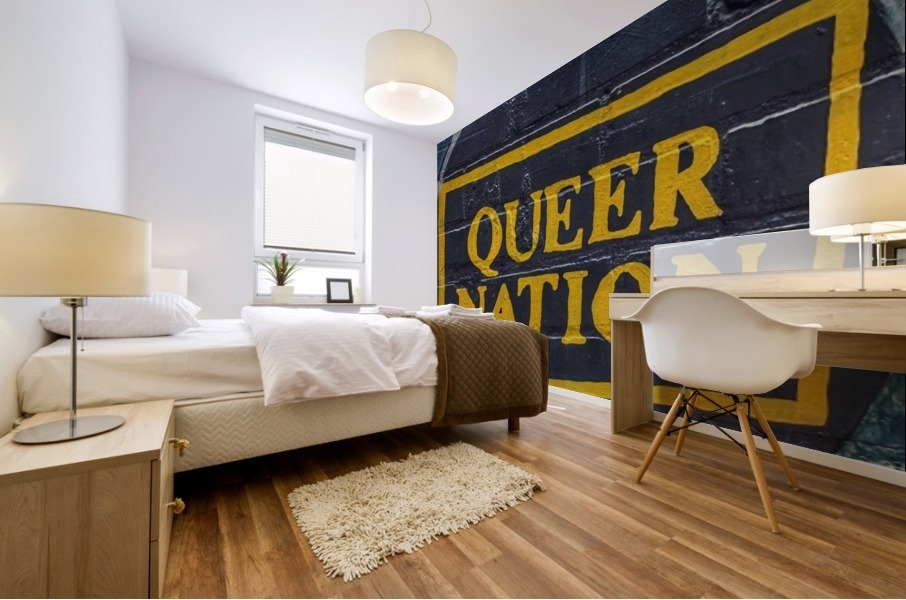 Queer Nation - Toronto Mural print