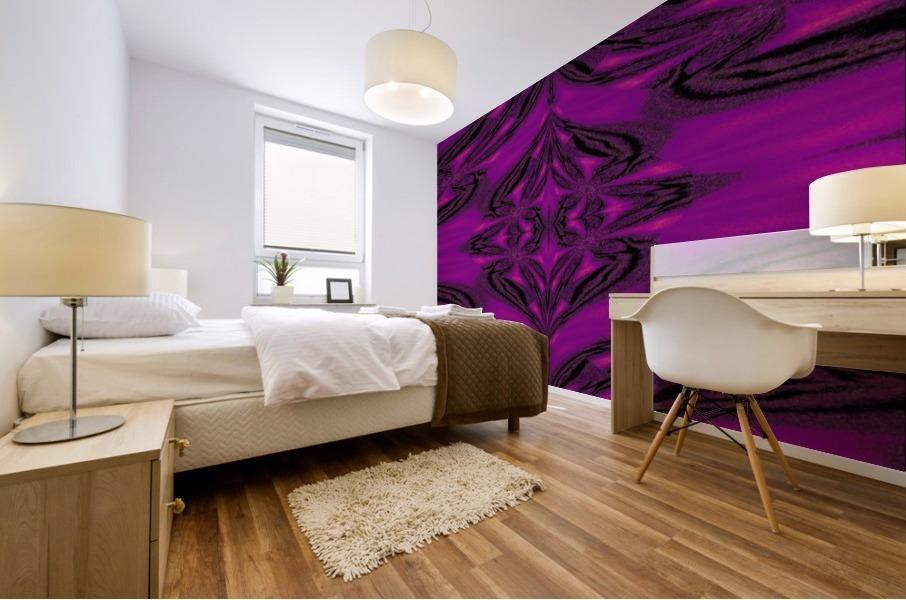 Purple Desert Song 5 Mural print