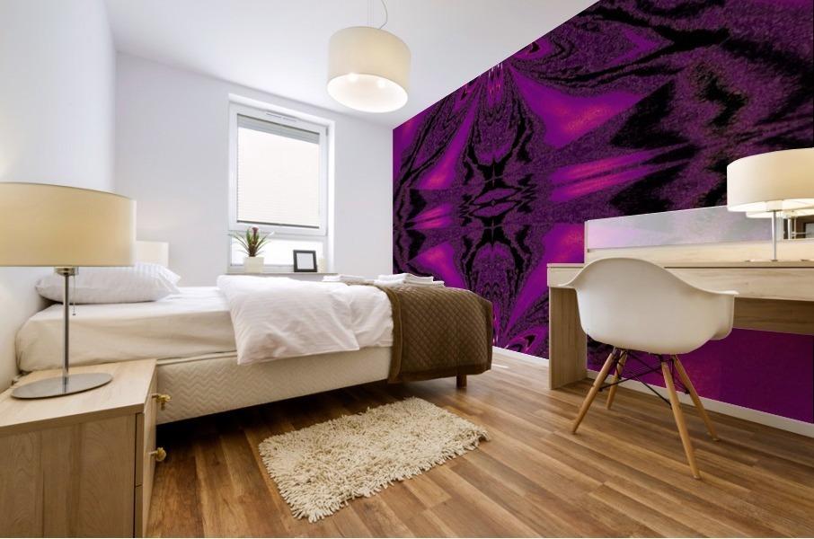 Purple Desert Song 7 Mural print