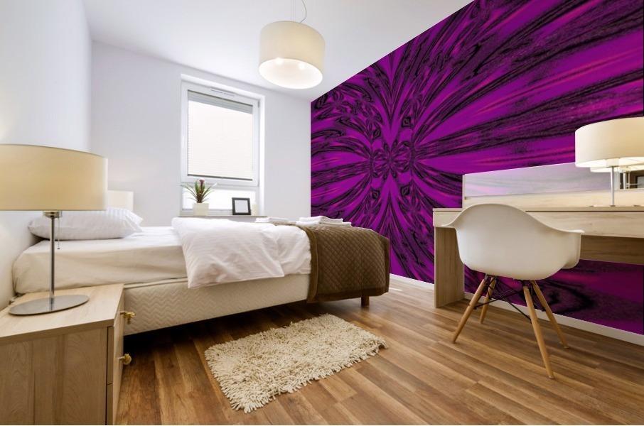 Purple Desert Song 8 Mural print