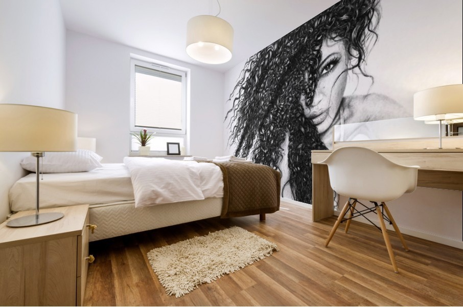 The Muse Mural print