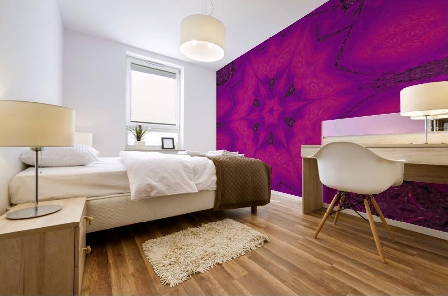 Purple Desert Song 29 Mural print