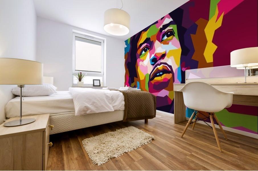 Jimi Hendrix Mural print