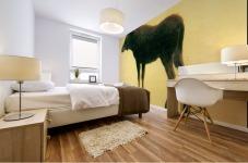 Elk by Bierstadt Mural print