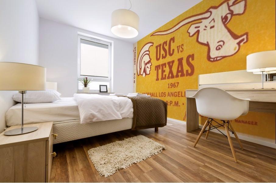 1967 USC vs. Texas  Mural print