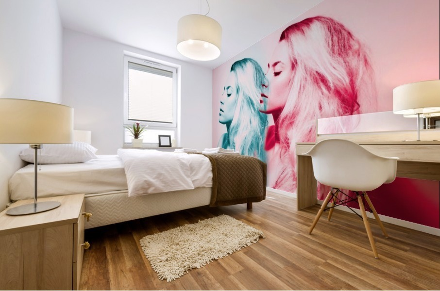 Double Vision Mural print