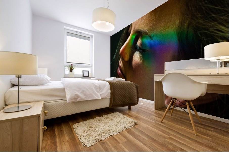 Rainbow Warrior Mural print