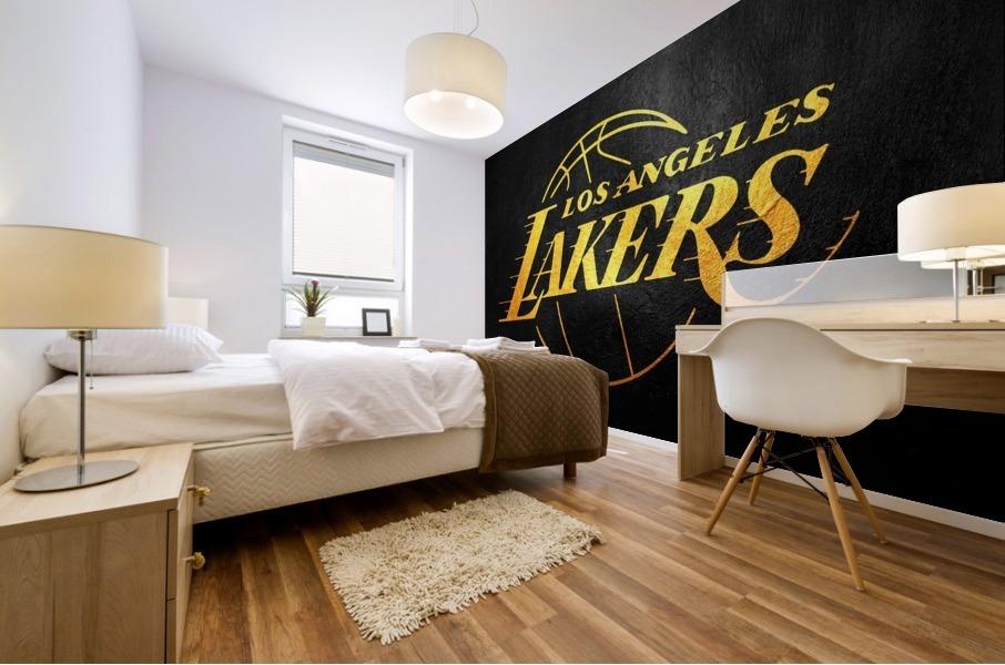 Lakers 2 Mural print