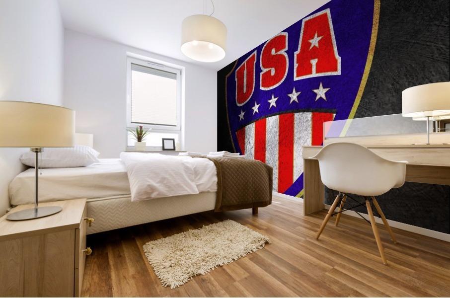 USA Mural print