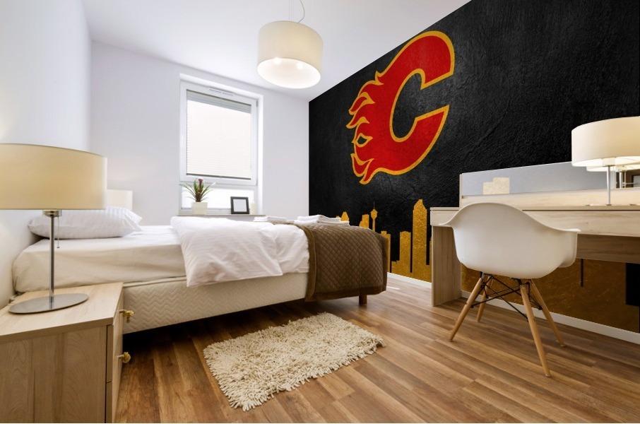 Calgary Flames Mural print