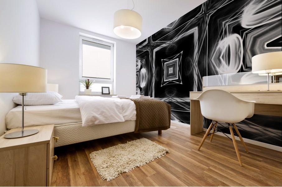 Digital art Mural print