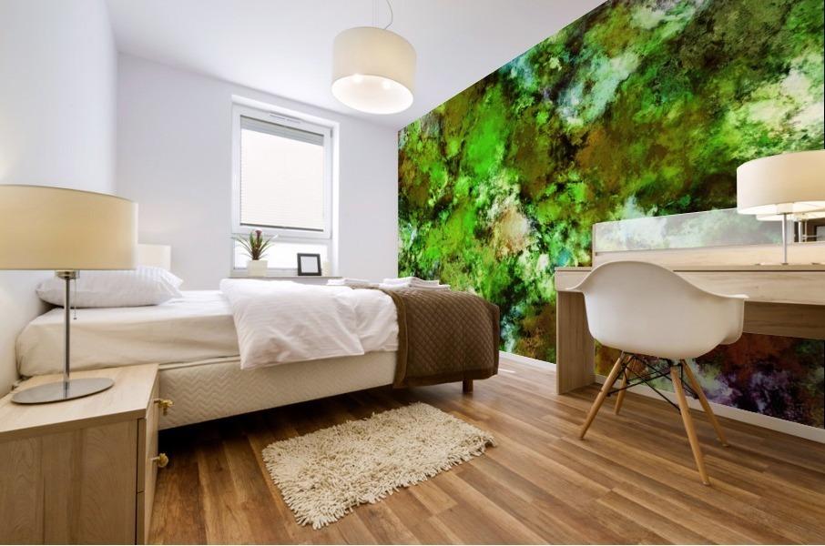Green scene Mural print