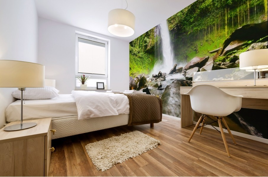 La Fortuna Waterfall  Mural print