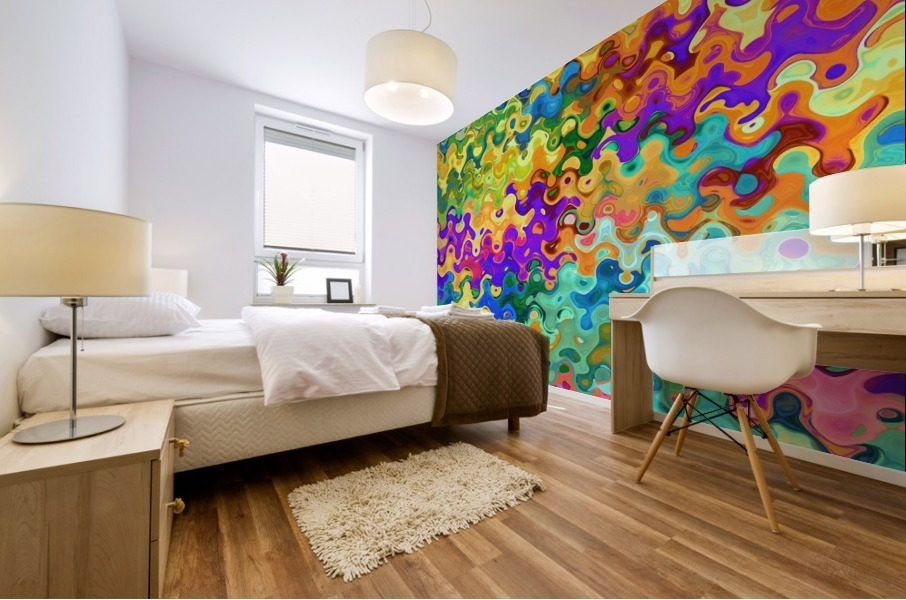 Colorful Abstraction Mural print