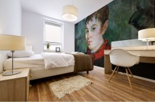 Landlord s Daughter by Gauguin Mural print