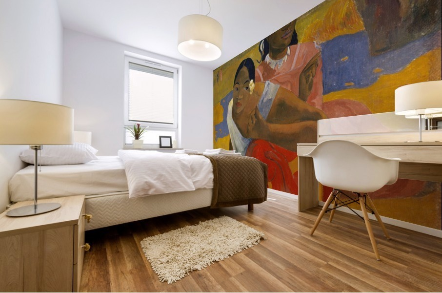 Paul Gauguin: When Will You Marry HD 300ppi Mural print