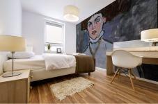 Modigliani - Head of a young woman Mural print