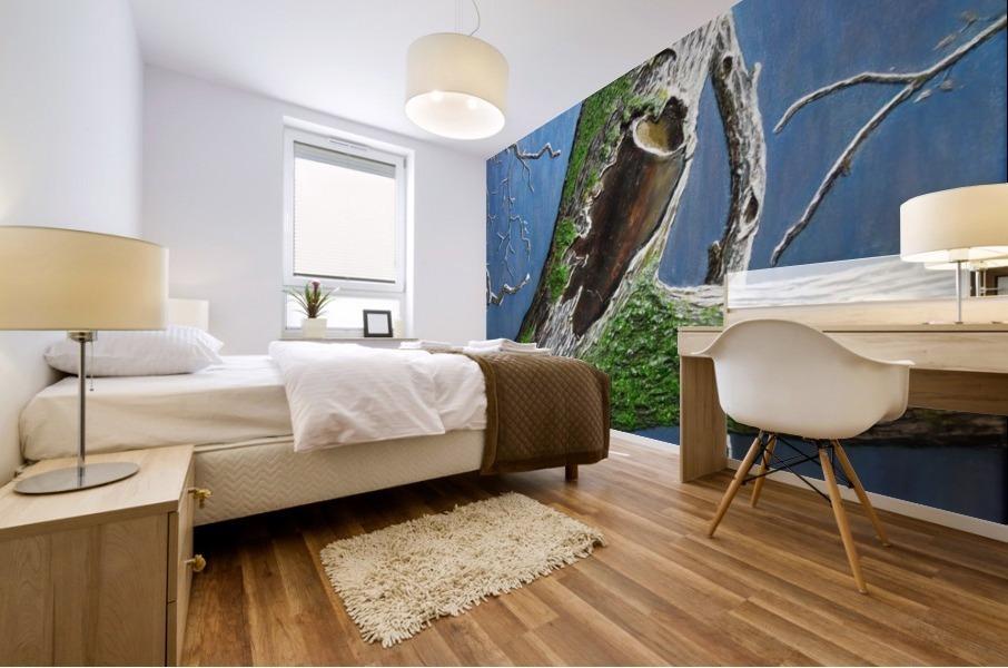 Mossy Branch Mural print