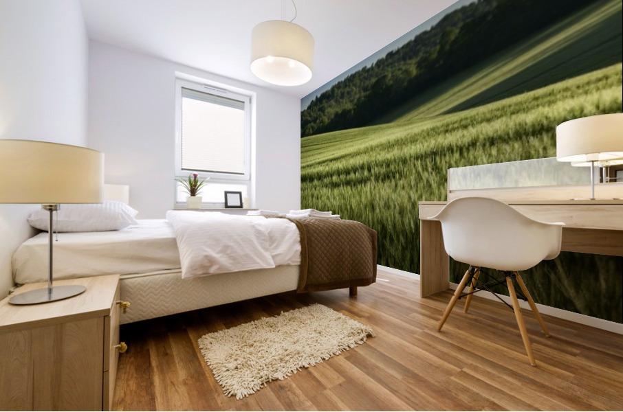 Wheat Fields Mural print