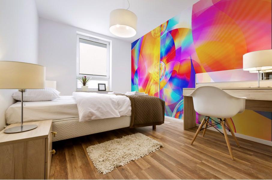 4th Dimension -Abstract Art XVII Mural print