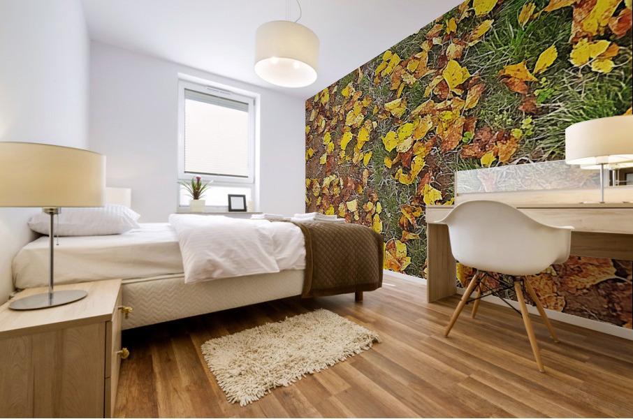 An Autumn Carpet Mural print