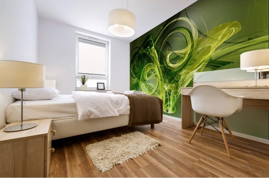 Frog Mural print